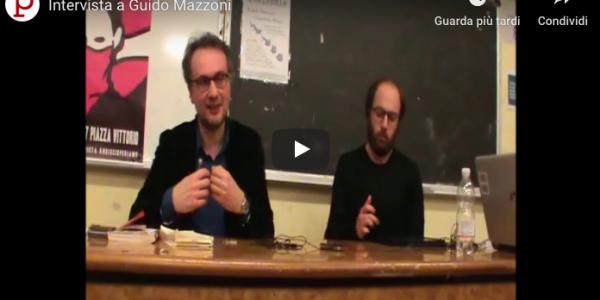 Intervista a Guido Mazzoni